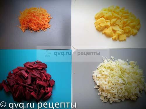 морковь капуста картошка и свекла